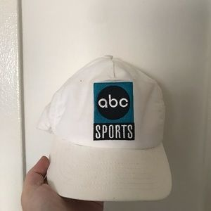 Vintage ABC Sports nutmeg hat